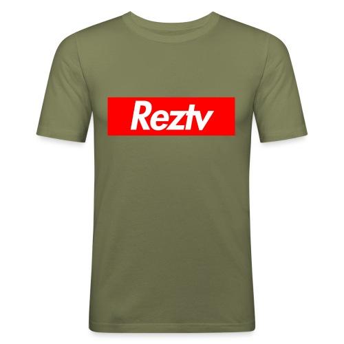 RezPreme - Miesten tyköistuva t-paita