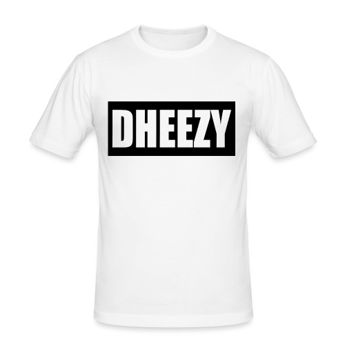 DHEEZY_logo_1 - Men's Slim Fit T-Shirt
