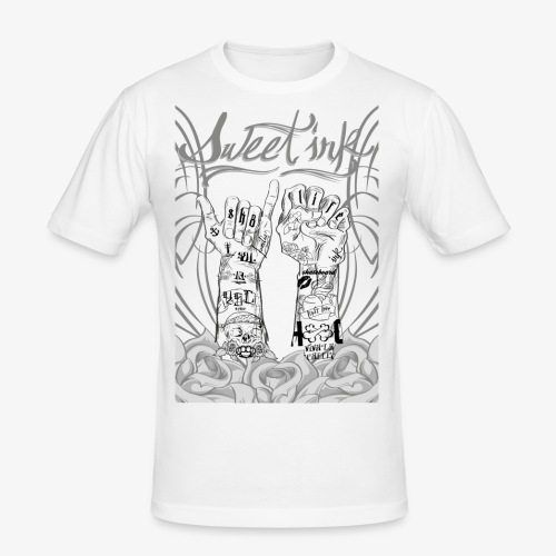 sweet ink - Camiseta ajustada hombre
