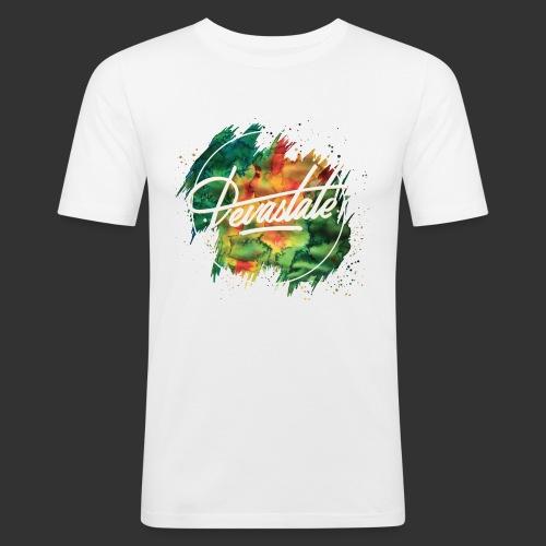 Peinture Devastate png - T-shirt près du corps Homme