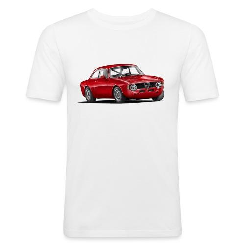 Alfa Gulia GT png - Männer Slim Fit T-Shirt