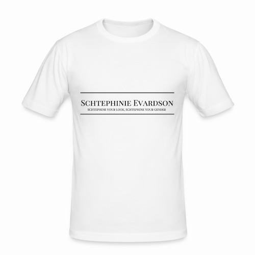 Schtephinie Evardson Professional - Men's Slim Fit T-Shirt