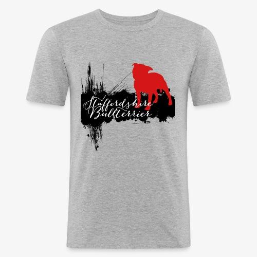 Staffordshire Bullterrier - Männer Slim Fit T-Shirt