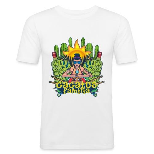 SUMMERFEST 2016 - Mannen slim fit T-shirt