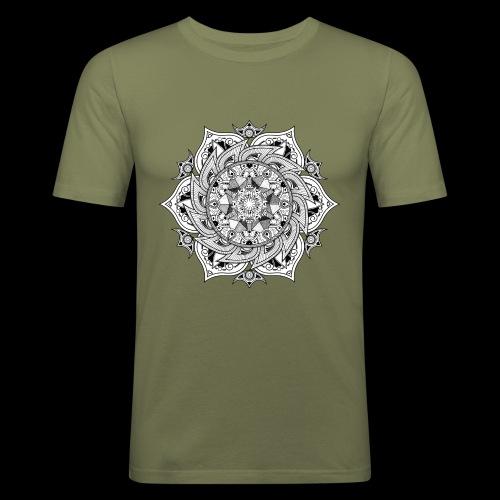 Mandala - Maglietta aderente da uomo