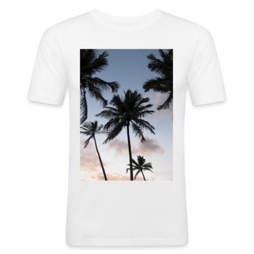 PALMTREES DOMINICAN REP. - slim fit T-shirt