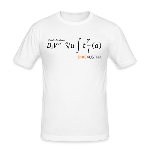 Physics for divers (DiveAustria) - Männer Slim Fit T-Shirt