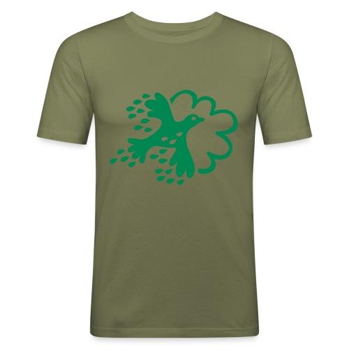 FLAX - Slim Fit T-shirt herr