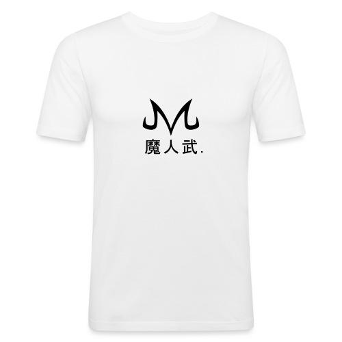 majin logo shirt - Mannen slim fit T-shirt