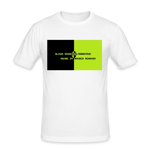 Channel_Art_Template_ufo_youtube_pt_4 - Maglietta aderente da uomo