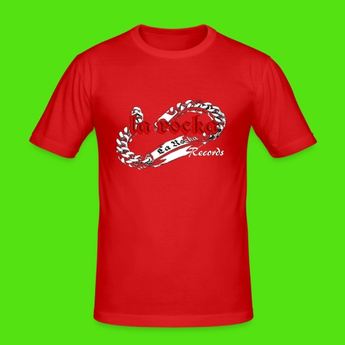 La Rocka black'n'red tsp - Men's Slim Fit T-Shirt