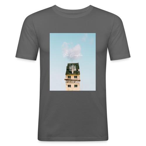 Be Creative - Maglietta aderente da uomo