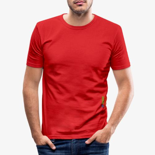 De Showfabriek - Mannen slim fit T-shirt
