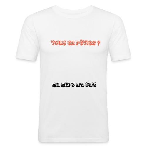 humour - T-shirt près du corps Homme