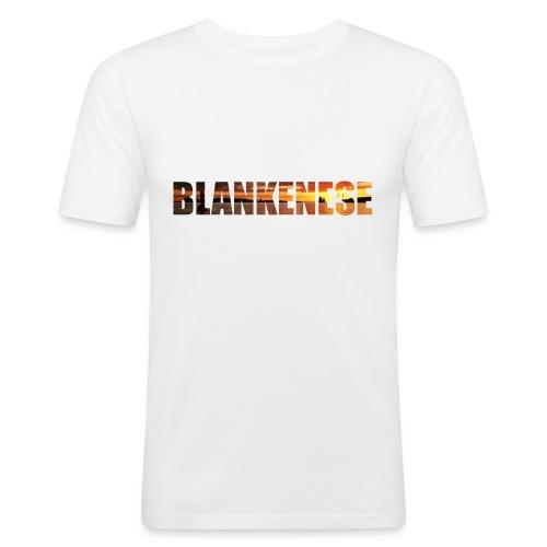 Blankenese Hamburg - Männer Slim Fit T-Shirt