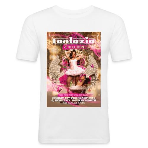 fantazia bournemouth ft big - Men's Slim Fit T-Shirt