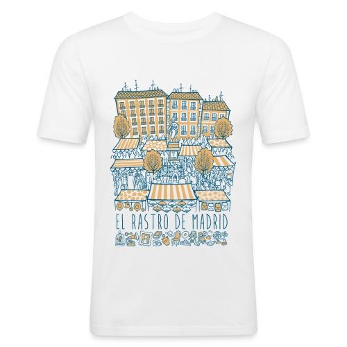 EL RASTRO DE MADRID - Camiseta ajustada hombre