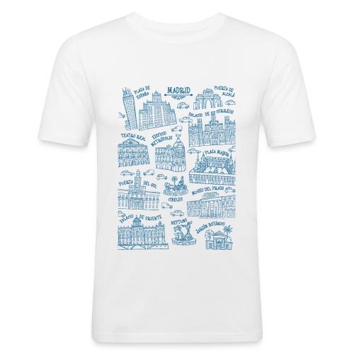 MADRID MONUMENTAL - Camiseta ajustada hombre