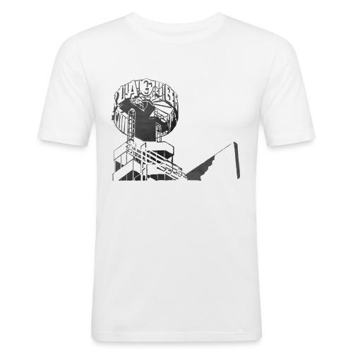 Berlin-Alex - Männer Slim Fit T-Shirt