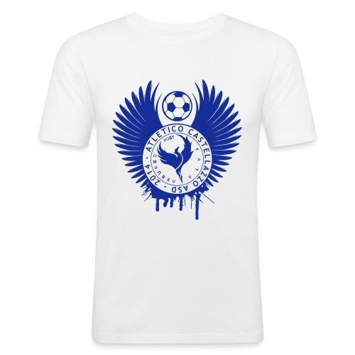 Logo Atletico Alato - Maglietta aderente da uomo