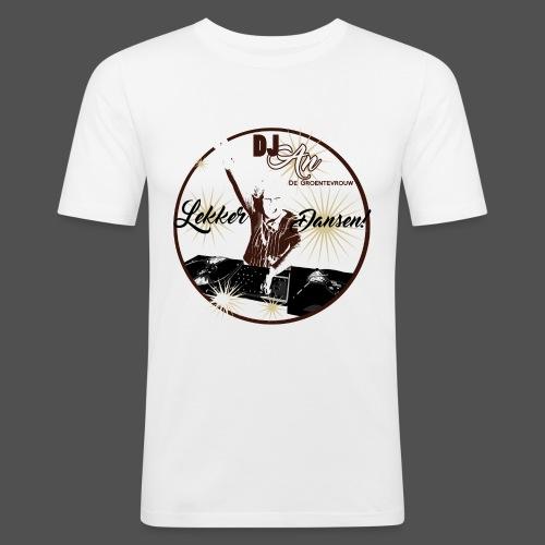 DJ An - Mannen slim fit T-shirt