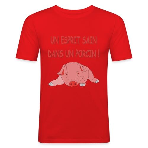 Porcitive Attitude - T-shirt près du corps Homme