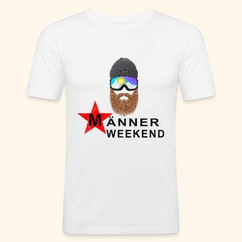 Männerweekend - Männer Slim Fit T-Shirt