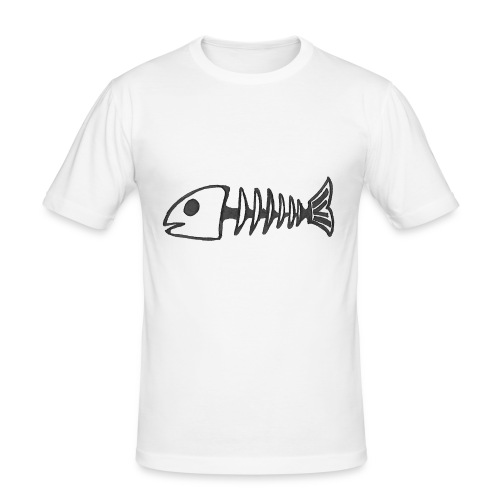 Dead Fish - T-shirt près du corps Homme