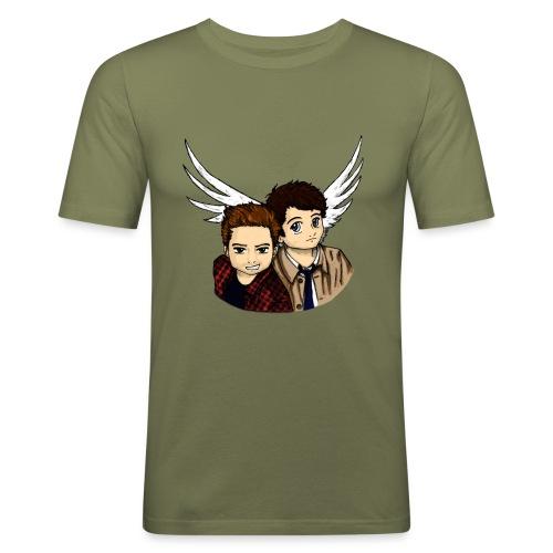 Destiel i farver - Herre Slim Fit T-Shirt