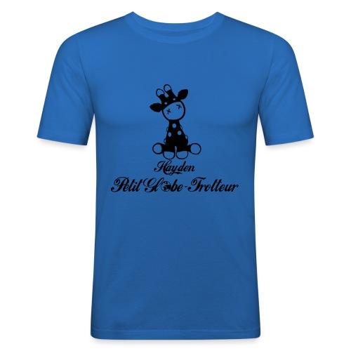 Hayden petit globe trotteur - T-shirt près du corps Homme