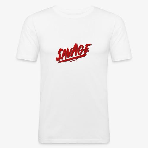 savagjonssongang - Slim Fit T-shirt herr