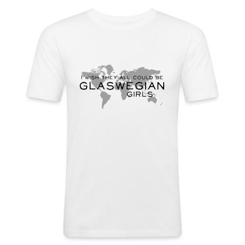 Glaswegian Girls - Men's Slim Fit T-Shirt