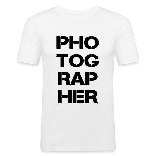 PHOTOGRAPHER - T-shirt près du corps Homme