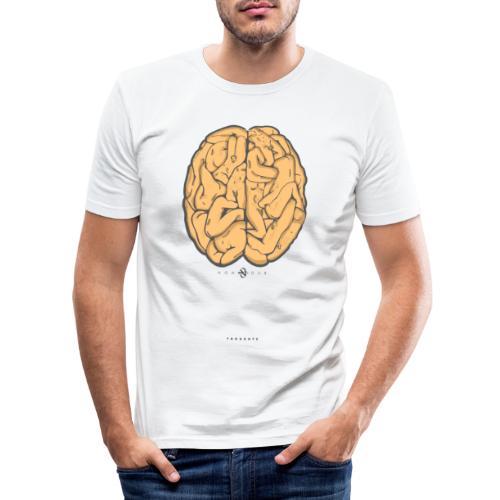 nondub thoughts - Men's Slim Fit T-Shirt