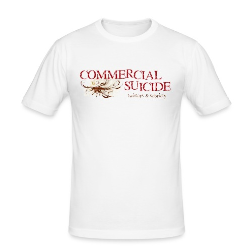 twisters sobriety - Männer Slim Fit T-Shirt