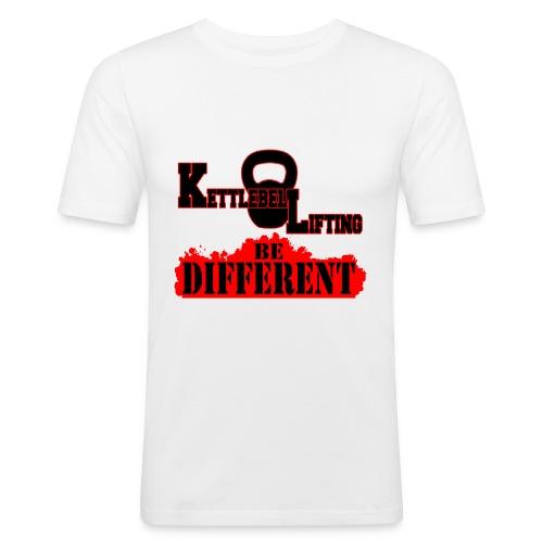KETTLEBELL BE DIFFERENT - Maglietta aderente da uomo