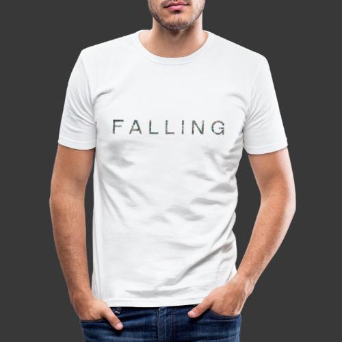 F A L L I N G - T-shirt près du corps Homme