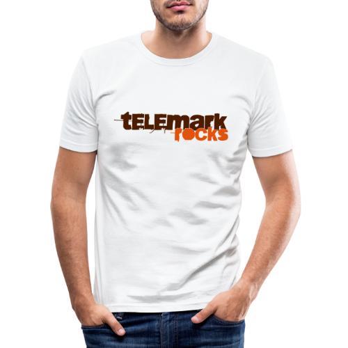 Telemark rocks! - Männer Slim Fit T-Shirt