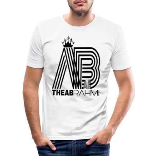 THEABRAHMI BLACK - T-shirt près du corps Homme