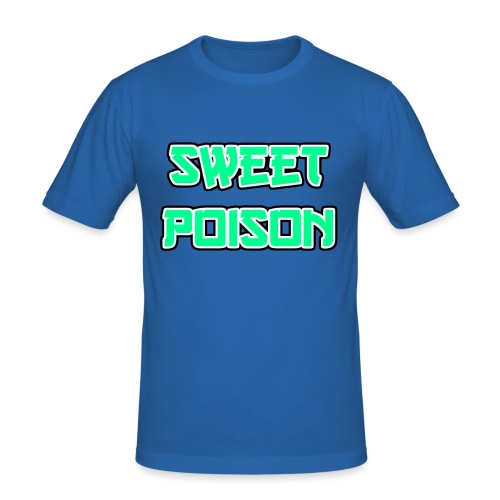 Sweet Poison - Männer Slim Fit T-Shirt