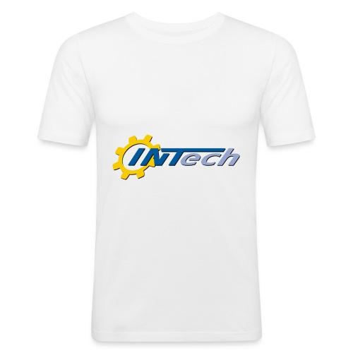 intech_logo - T-shirt près du corps Homme