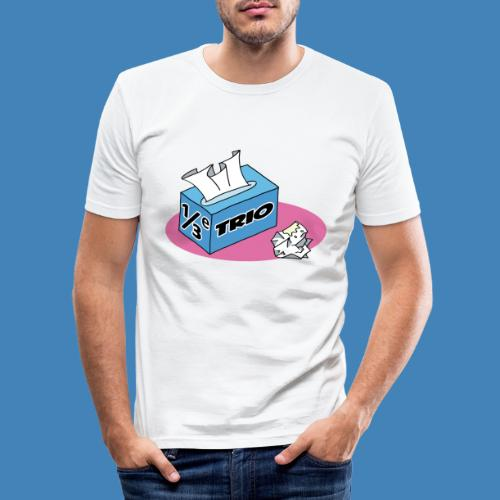 1/3e Trio - Mannen slim fit T-shirt