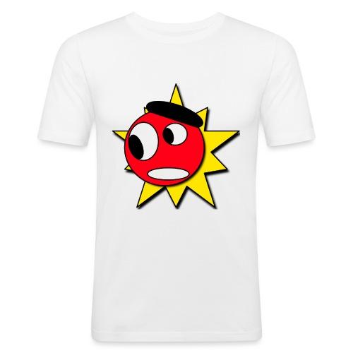 Mr Boom - Mannen slim fit T-shirt