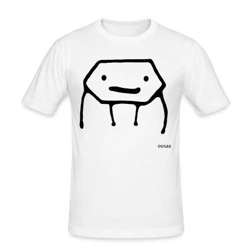 Strichmännchen - Männer Slim Fit T-Shirt