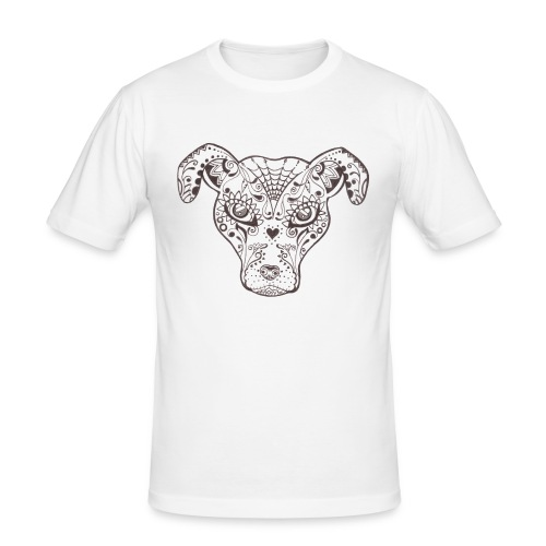 Sugar Dog - Männer Slim Fit T-Shirt