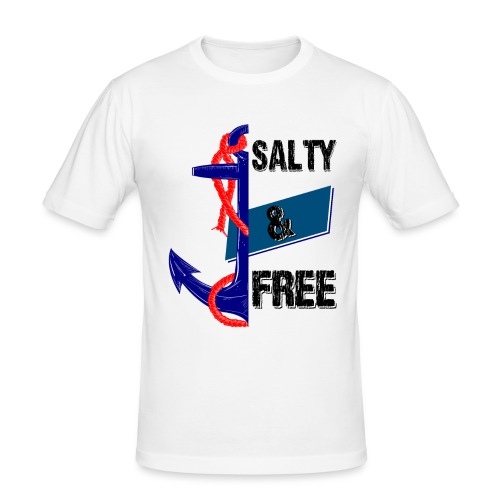 Salty and free - Männer Slim Fit T-Shirt