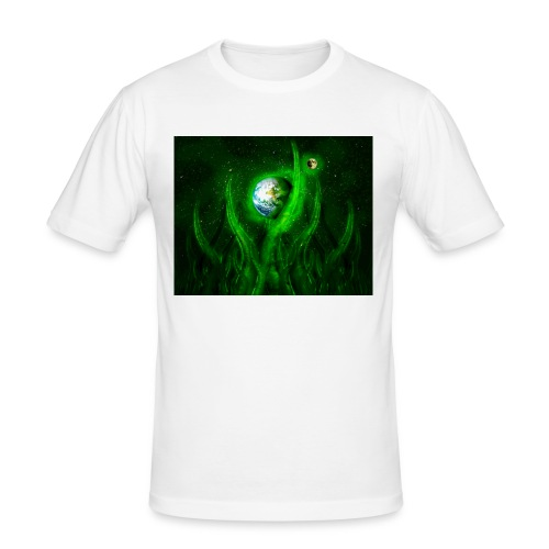 Cthulhu Rising - Männer Slim Fit T-Shirt