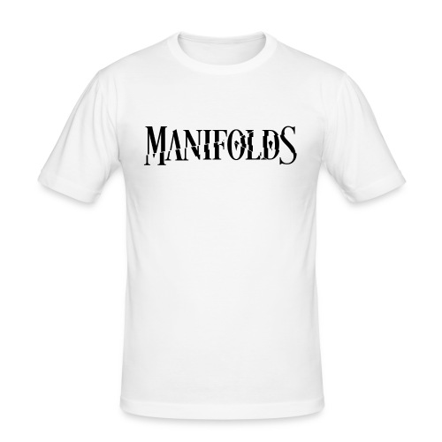 Manifolds (White) - Men's Slim Fit T-Shirt
