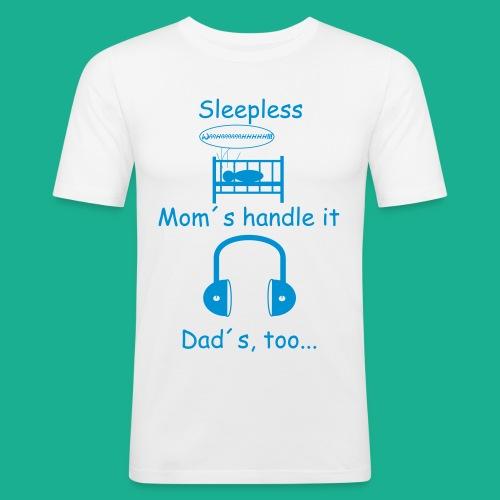 Sleepless - Männer Slim Fit T-Shirt