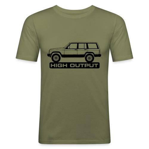 Jeep XJ High Output - Autonaut.com - Men's Slim Fit T-Shirt